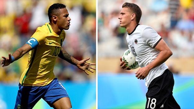 a1d05e96c7812 Alemania disputará con el Brasil de Neymar la medalla de oro de los Juegos  Olímpicos de Rio-2016 al imponerse 2-0 a Nigeria este miércoles en las ...